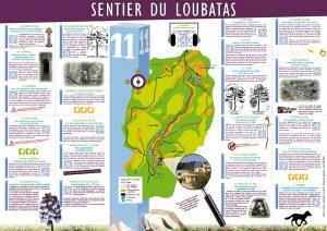Carte du Sentier - Verso