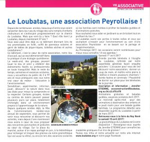 peyrolles info mars 2017